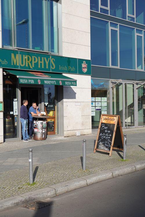 Murphy's Irish Pub. Bier to Go. Lockdown