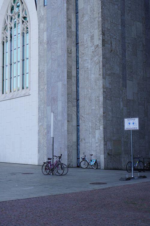 Alle für Alle. Maskenpflicht-Schild bei Augustusplatz/ Universität Leipzig