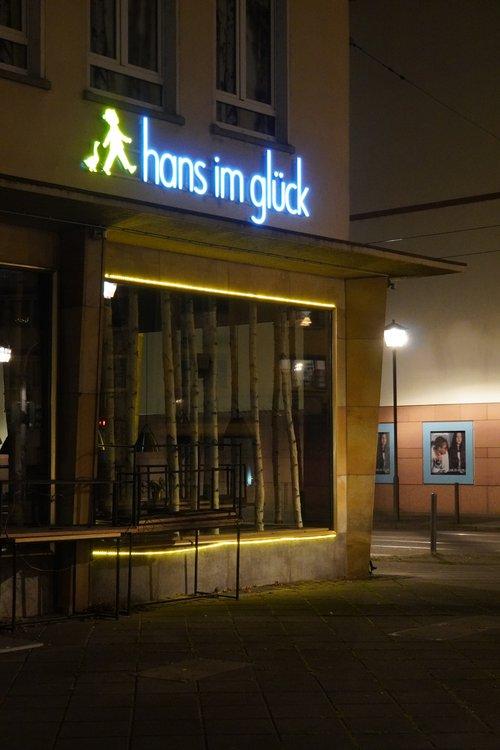 Hans im Glück Burger-Restaurant geschlossen im Lockdown