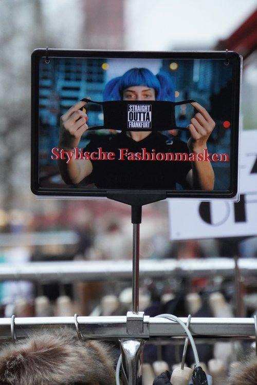 Straight Outta Frankfurt Stylische Fashionmasken