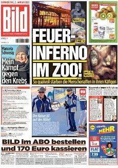 Bild-Zeitung 2. Januar 2020
