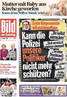 Bild-Zeitung 12. Januar 2020