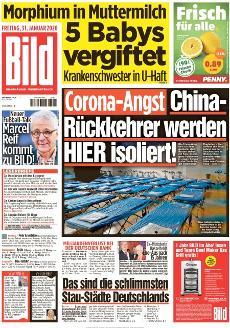 Bild-Zeitung 31. Januar 2020