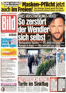 Bild-Zeitung 10. Oktober 2020