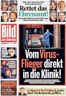 Bild-Zeitung 2. Februar 2020