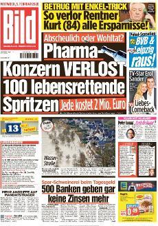 Bild-Zeitung 5. Februar 2020