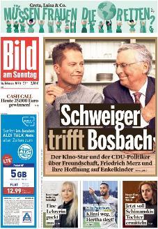Bild-Zeitung 16. Februar 2020