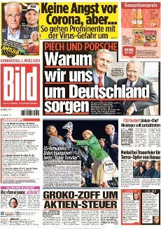 Bild-Zeitung 5. März 2020