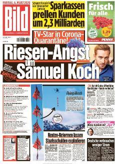 Bild-Zeitung 6. März 2020
