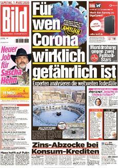 Bild-Zeitung 7. März 2020