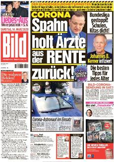 Bild-Zeitung 14. März 2020