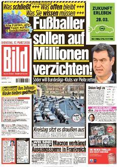 Bild-Zeitung 17. März 2020