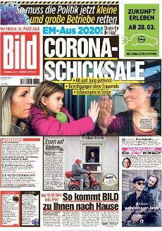 Bild-Zeitung 18. März 2020