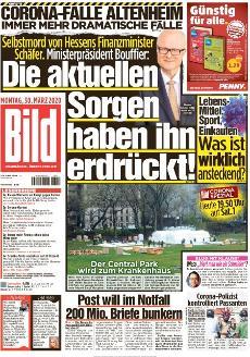 Bild-Zeitung 30. März 2020