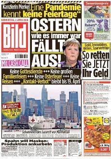 Bild-Zeitung 2. April 2020