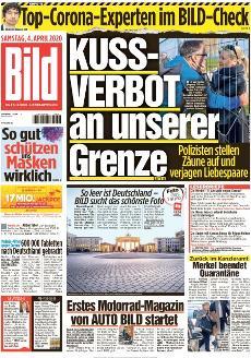 Bild-Zeitung 4. April 2020
