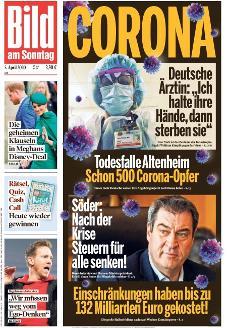 Bild-Zeitung 5. April 2020