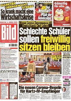 Bild-Zeitung 6. April 2020