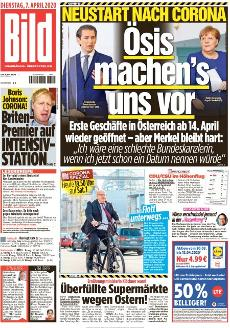 Bild-Zeitung 7. April 2020