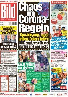Bild-Zeitung 9. April 2020