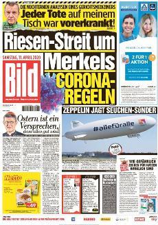 Bild-Zeitung 11. April 2020