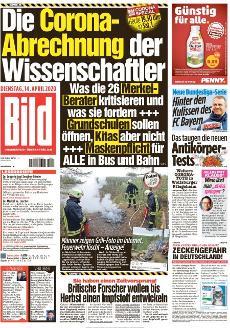 Bild-Zeitung 14. April 2020