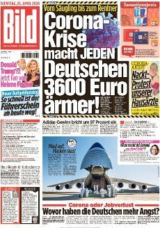 Bild-Zeitung 28. April 2020