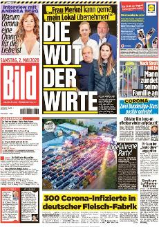 Bild-Zeitung 2. Mai 2020
