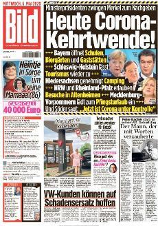 Bild-Zeitung 6. Mai 2020