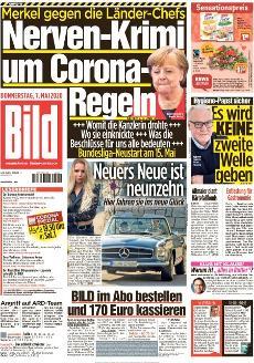Bild-Zeitung 7. Mai 2020