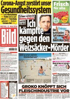 Bild-Zeitung 22. Mai 2020