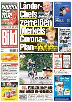 Bild-Zeitung 27. Mai 2020