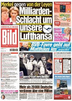 Bild-Zeitung 28. Mai 2020
