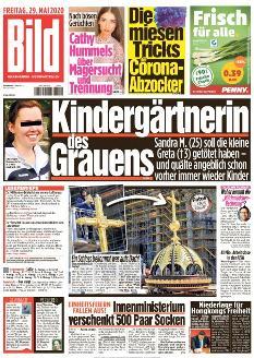 Bild-Zeitung 29. Mai 2020