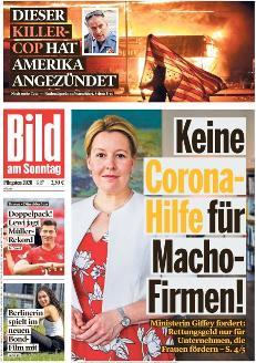 Bild-Zeitung 31. Mai 2020