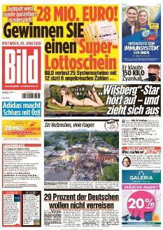 Bild-Zeitung 3. Juni 2020