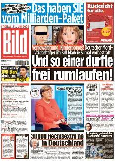 Bild-Zeitung 5. Juni 2020