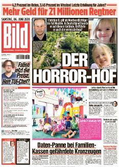Bild-Zeitung 6. Juni 2020