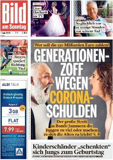 Bild-Zeitung 7. Juni 2020