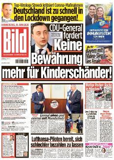 Bild-Zeitung 11. Juni 2020