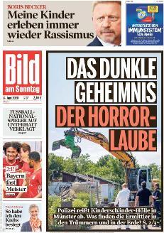 Bild-Zeitung 14. Juni 2020