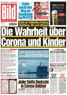 Bild-Zeitung 17. Juni 2020