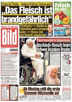 Bild-Zeitung 19. Juni 2020