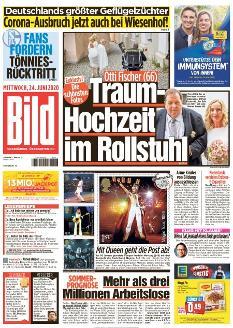 Bild-Zeitung 24. Juni 2020