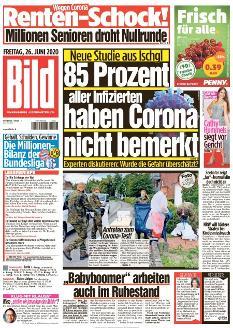 Bild-Zeitung 26. Juni 2020