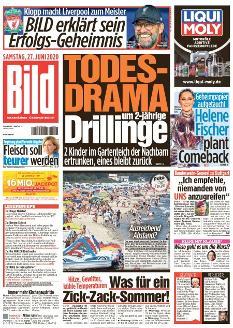 Bild-Zeitung 27. Juni 2020