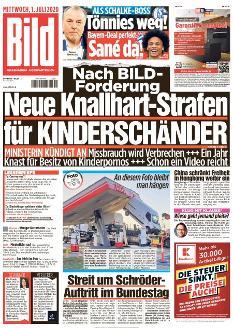 Bild-Zeitung 1. Juli 2020
