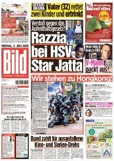Bild-Zeitung 3. Juli 2020
