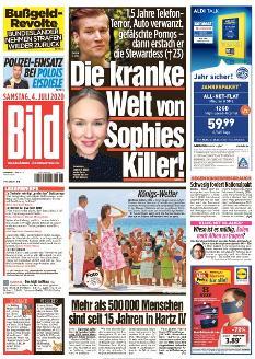 Bild-Zeitung 4. Juli 2020