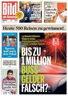 Bild-Zeitung 5. Juli 2020